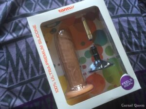 Tantus Sam - O2 Dual Density Vibrating Dildo