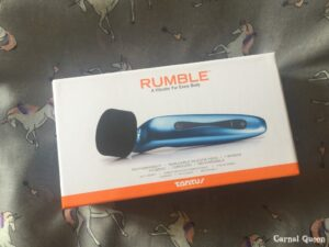 Tantus Rumble - Carnal Queen's Review